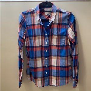 J. Crew Factory Plaid Shirt